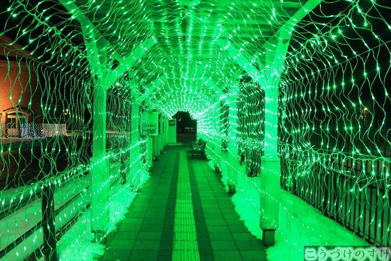 永平寺駅イルミ7