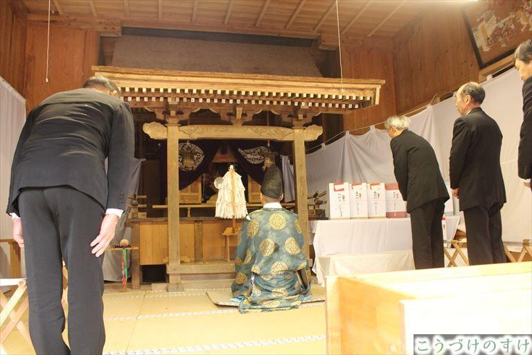 伊良神社神事