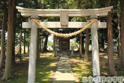 舟戸の神明神社
