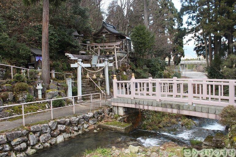 弁財天白龍王大権現への橋